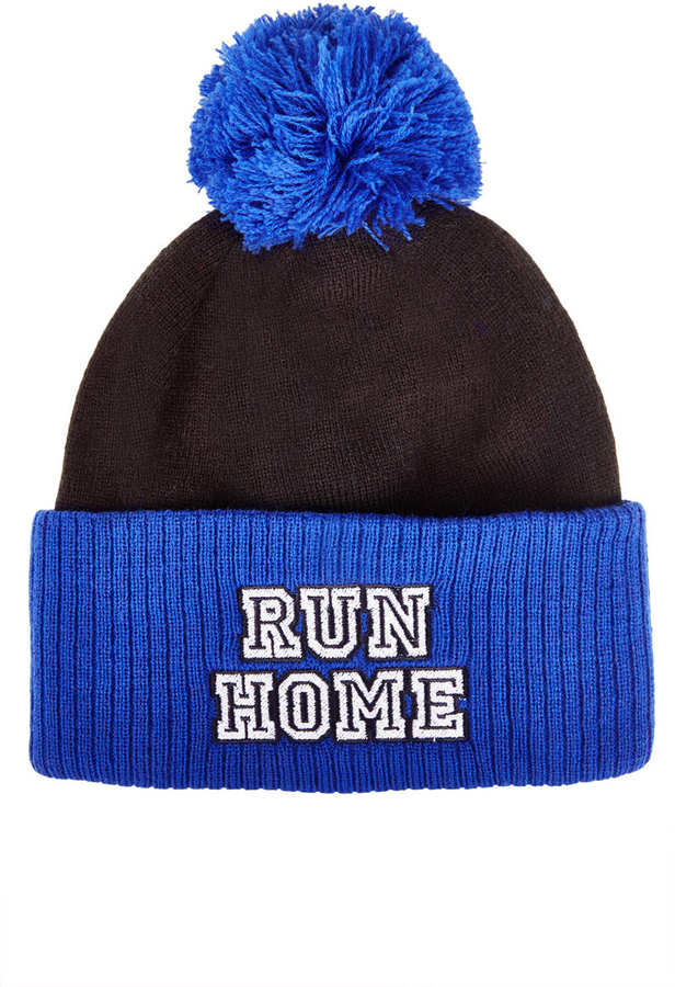Topshop **Run Home Bobble Hat by The Ragged Priest
