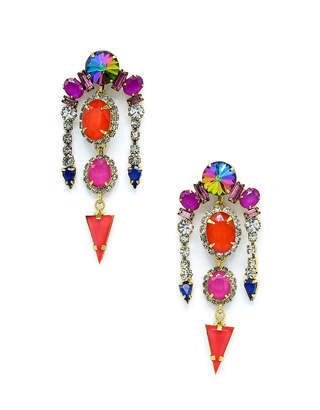 Elizabeth Cole Liora Multicolor Drop Earrings