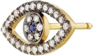 Shelly Zucker Jewelry Evil Eye Diamond Earring
