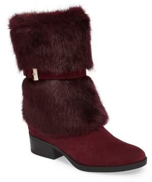 Taryn Rose Giselle Weatherproof Faux Fur Boot