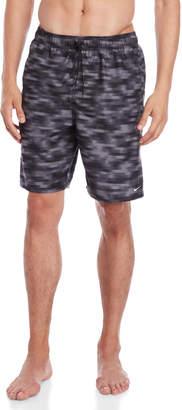 Nike Blurred Stripe Volley Swim Trunks