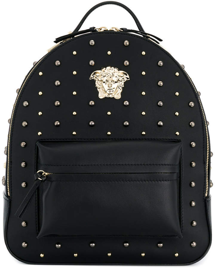 Versace studded backpack