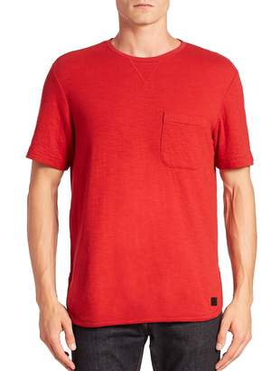 Madison Supply Men's Cotton Solid Tee