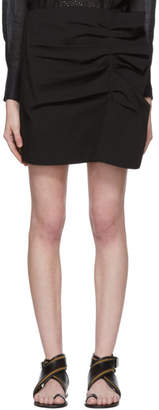 Isabel Marant Black Lefly New Stretch Cotton Skirt