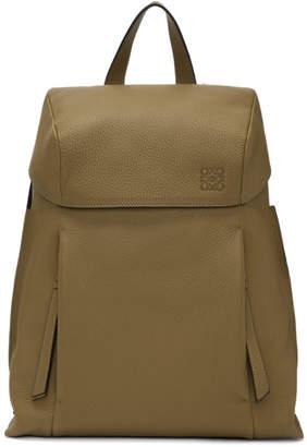 Loewe Brown Small T Backpack