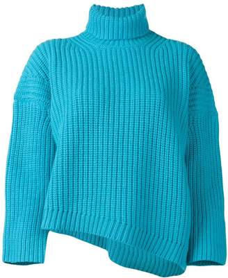 Department 5 chunky cropped knit sweater