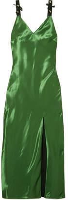 Jason Wu Embellished Mikado Midi Dress - Green