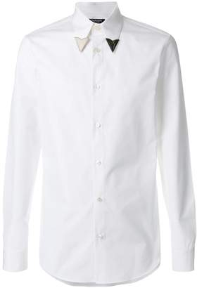 Calvin Klein arrow lapel shirt