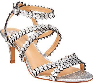 Vince Camuto Leather Multi Strap Sandals- Yuria