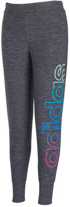 adidas Little Girls Space-Dyed Jogger Pants