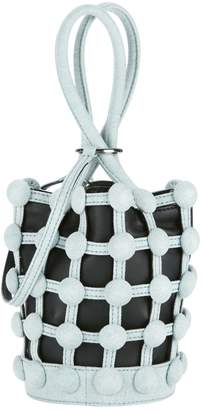 Alexander Wang Roxy Cage Bucket Denim Bag