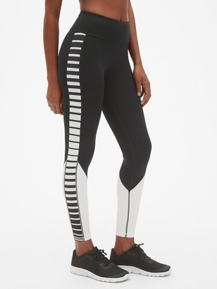 f55637a32f Gap GapFit Stripe Panel Leggings in Sculpt Compression
