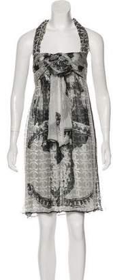 Chanel Silk CC Dress