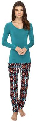 Josie Solstice Long Sleeve PJ Set Women's Pajama Sets