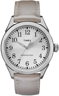 Timex Women's Briarwood Terrace Leather Watch $54.95 thestylecure.com