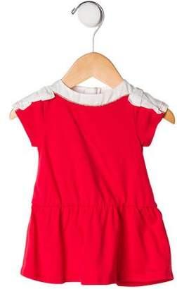Chloé Infant Girls' Short Sleeve Peplum Top