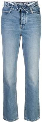 Alexander Wang Cult Flip open front jeans