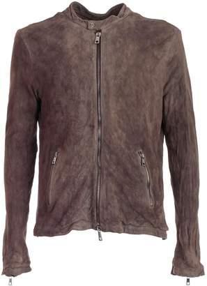 Giorgio Brato Moto Leather Jacket