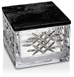 Lismore Revolution Covered Box with Marble Lid