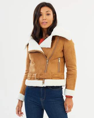 Living Doll Luxe Sherpa Jacket