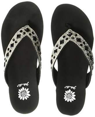 f02ba6c9e Rhinestone Wedge Sandals - ShopStyle