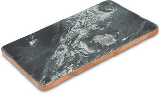 Thirstystone Black Marble Board with Copper Finish Edge