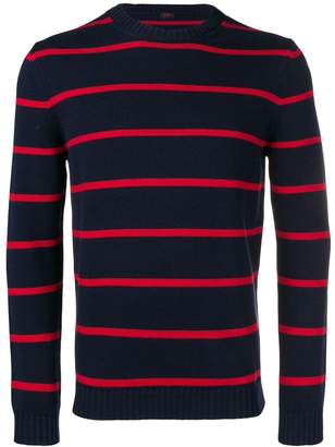 Piombo Mp Massimo striped long sleeve sweater