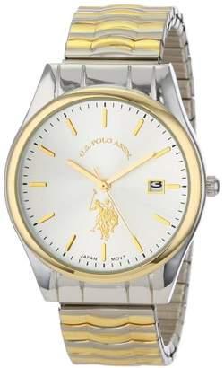 U.S. Polo Assn. Classic Men's USC80006 Two-Tone Bracelet Analog Watch