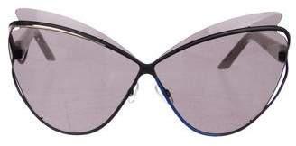 Christian Dior Tinted Cat-Eye Sunglasses