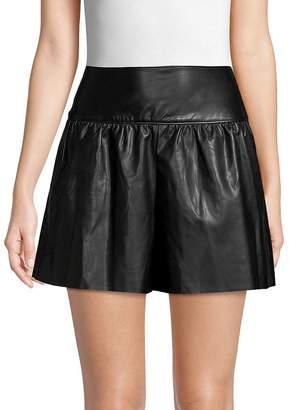 Club Monaco Women's Larue Faux Leather Shorts