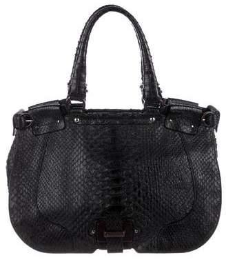 Salvatore Ferragamo Python Shoulder Bag
