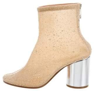 Maison Margiela Paillettes Sock Ankle Boots w/ Tags