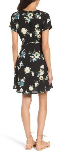 Women's Lush Olivia Wrap Dress 2