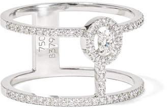 Messika - Glam'azone 18-karat White Gold Diamond Ring
