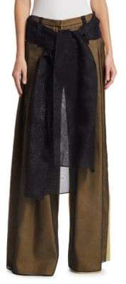 Rosie Assoulin Tulle Wide Leg Pants
