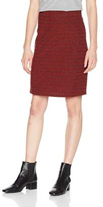 BOSS Women's Taparty Skirt, (Medium Red 612), Small