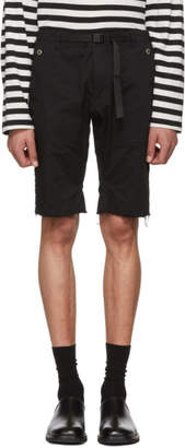 TAKAHIROMIYASHITA TheSoloist. Black Easy Shorts