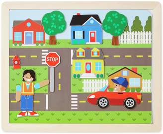Melissa & Doug Wooden Magnetic Picture Game