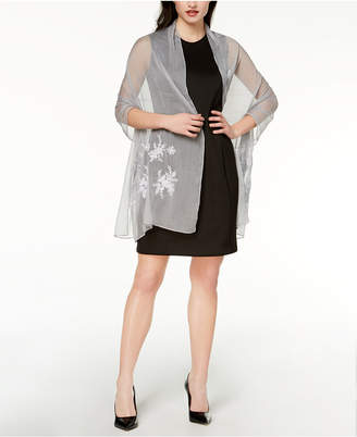 INC International Concepts I.n.c. Embroidered Shine Evening Wrap, Created for Macy's