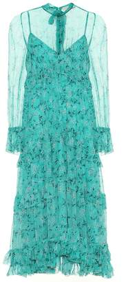 Zimmermann Moncur floral silk dress