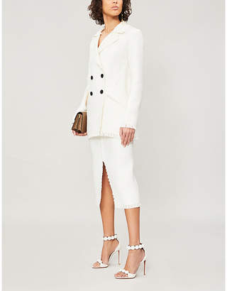 Roland Mouret Thaxter wool-blend jacket