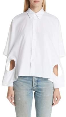 Junya Watanabe Circle Cutout Shirt