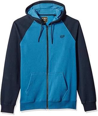 Fox Men's Standard Fit Legacy Logo Zip Hooded Sweatshirt
