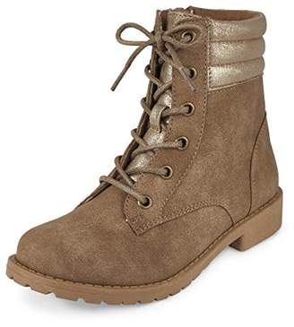 Children's Place The Girls' Fashion Combat Boots