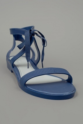 Melissa Optical Sandal Flat Blue