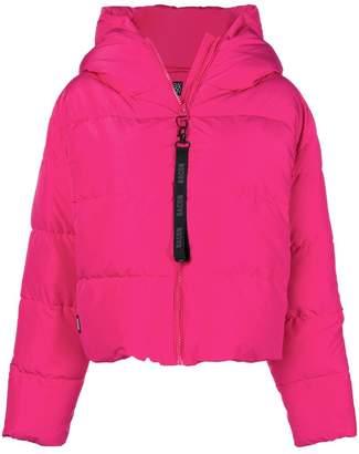 Bacon Cloud hooded puffer jacket