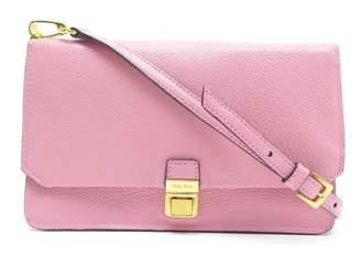 Miu Miu Madras Pink Leather Handbag