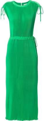 CK Calvin Klein fluid pleated dress