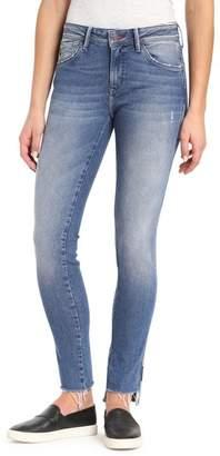 Mavi Jeans Adriana Contrast Side Stripe Skinny Jeans