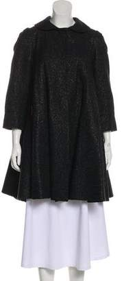 Alice + Olivia Wool-Blend Short Coat